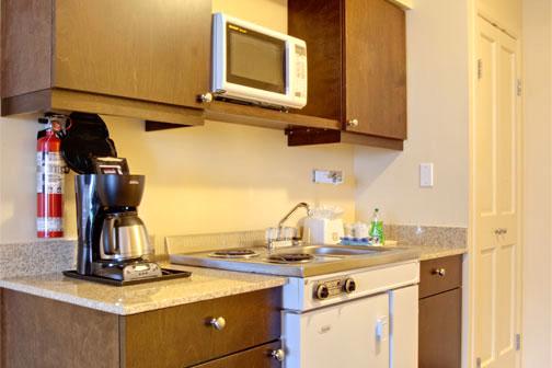 King Kitchenette Best Western Tin Wis Resort Lodge